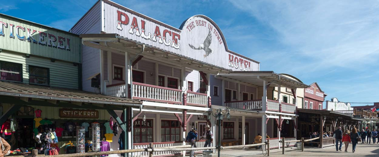 The Best in Town: das Palace Hotel in Pullman City