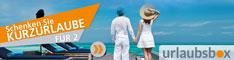 Urlaubsbox-Reise Gutscheine für Kurzreisen & Kurzurlaub
